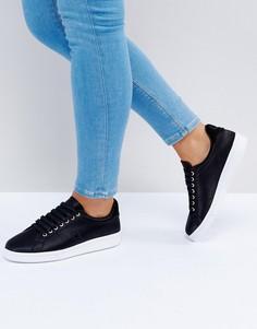 Атласные кроссовки Fred Perry - Черный