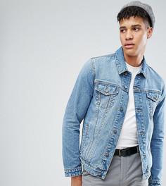 Синяя джинсовая куртка ASOS TALL - Синий