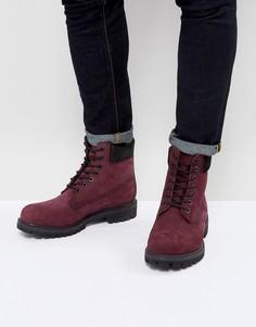 Красные ботинки Timberland Classic 6 Inch Premuim - Красный