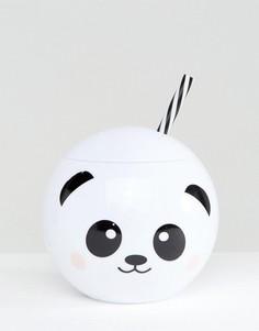 Кружка с дизайном в виде панды New Look - Белый