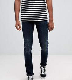 Сине-черные джинсы скинни ASOS TALL - Синий