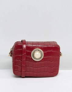 Маленькая сумка через плечо Versace Jeans - Красный
