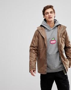 Светло-коричневая вощеная водонепроницаемая куртка Element Freeman - Коричневый