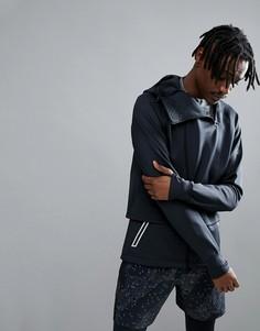 Черная трикотажная куртка Asics Running fuzeX 146616-0904 - Черный