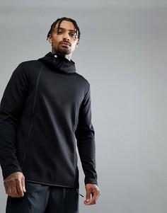 Черная куртка на молнии Asics Running Tech 146391-0904 - Черный