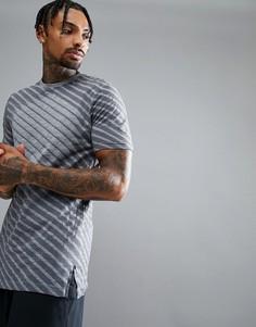 Серая бесшовная футболка Asics Running 146396-0773 - Серый