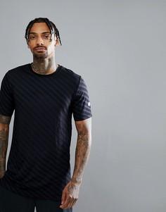 Черная бесшовная футболка для бега Asics 146396-0904 - Черный
