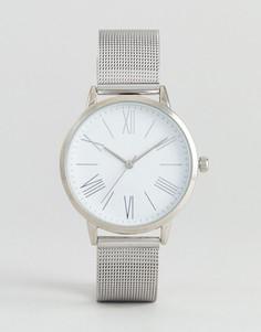 Серебристые часы ASOS - Серебряный