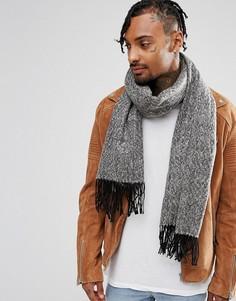 Черный шарф ASOS - Черный