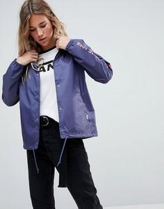 Синяя спортивная куртка Vans - Синий