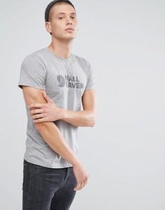 Серая футболка с логотипом Fjallraven - Серый