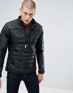 Черная дутая куртка Fjallraven - Черный