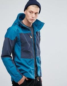 Куртка с карманами Fjallraven Keb - Темно-синий