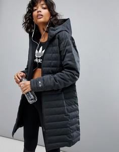 Темно-серое пальто adidas Reigning Champ - Серый