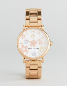 Классические наручные часы цвета розового золота Marc Jacobs MJ3580 - Золотой