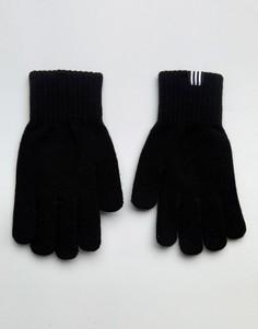 Черные перчатки adidas Originals - Черный