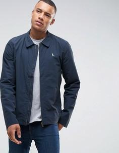 Темно-синяя легкая нейлоновая куртка Харрингтон Jack Wills Bodham - Темно-синий