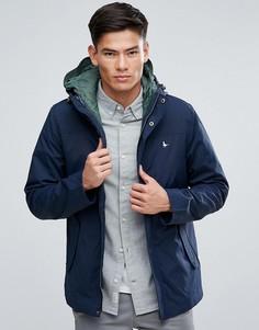 Темно-синяя куртка 2-в-1 со стеганым жилетом Jack Wills Bowfell - Темно-синий
