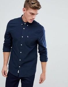 Темно-синяя оксфордская рубашка классического кроя Jack Wills Wadsworth - Темно-синий