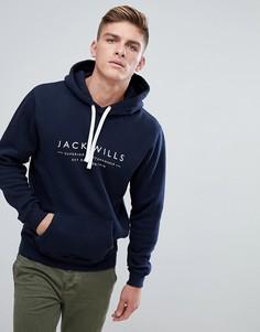 Темно-синий худи Jack Wills Batsford Heritage - Темно-синий