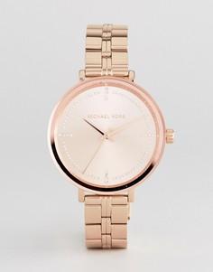 Золотисто-розовый браслет Michael Kors MK3793 Bridgette - Золотой