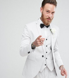 Серый приталенный пиджак Noak Wedding - Серый