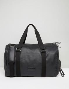 Черная полиуретановая сумка Systvm - Черный