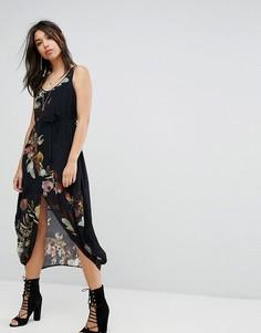 Свободное платье из легкой ткани Bolongaro Trevor - Мульти