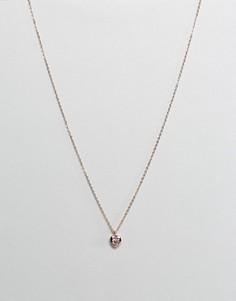 Ожерелье с подвеской-сердечком Ted Baker - Золотой