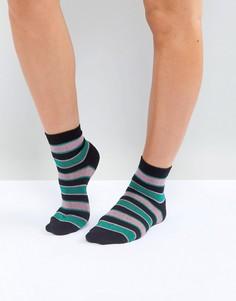 Носки с блестящими полосками ASOS - Мульти