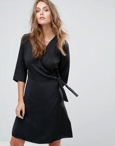 Платье-кимоно Minimum - Черный