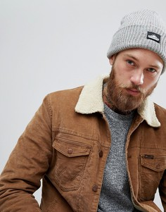 Серая шапка-бини Penfield Harris - Серый