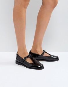 Туфли на плоской подошве ASOS MANDARIN - Черный