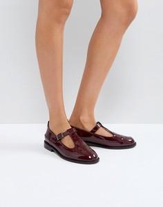 Туфли на плоской подошве ASOS MANDARIN - Красный
