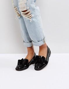 Туфли на плоской подошве ASOS MATCHMAKER - Черный