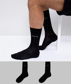 Подарочный набор новогодних носков (2 пары) BOSS By Hugo Boss - Черный