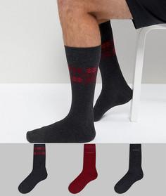 Носки в подарочном наборе (3 пары) BOSS By Hugo Boss - Мульти