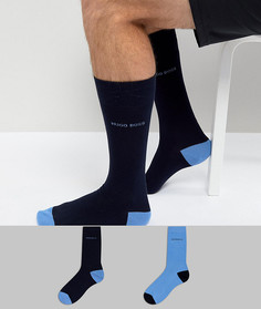 2 пары синих носков BOSS By Hugo Boss - Синий