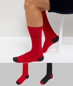2 пары красных носков BOSS By Hugo Boss - Красный