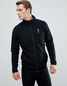 Флисовая спортивная куртка Jack & Jones Core - Черный
