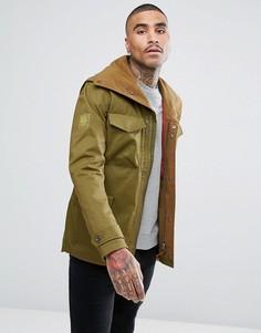 Зеленая куртка Pretty Green - Зеленый