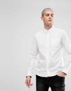 Белая эластичная рубашка с длинными рукавами Pretty Green Phoenix - Белый