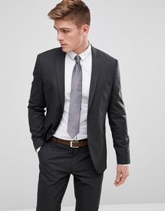 Темно-серый облегающий пиджак Jack & Jones - Серый