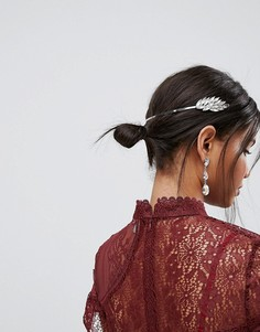 Украшение для волос с камнями ASOS - Серебряный