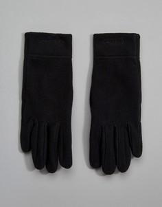 Черные флисовые перчатки Patagonia - Черный