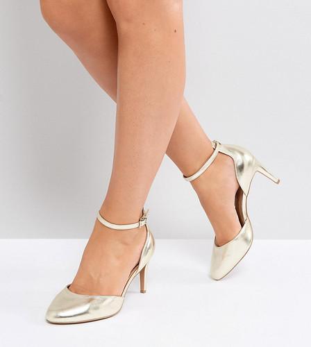 Туфли на каблуке для широкой стопы ASOS SWALLOW - Золотой