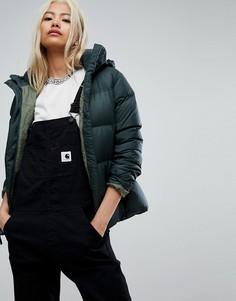 Куртка цвета хаки Patagonia - Зеленый