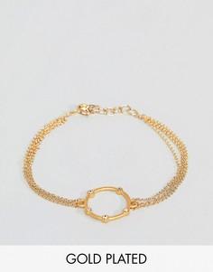 Позолоченный браслет Dogeared - Золотой