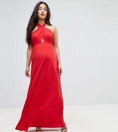 Платье макси Bluebelle Maternity - Красный