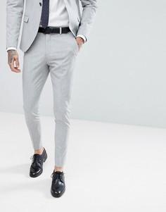 Супероблегающие брюки Selected Homme - Серый